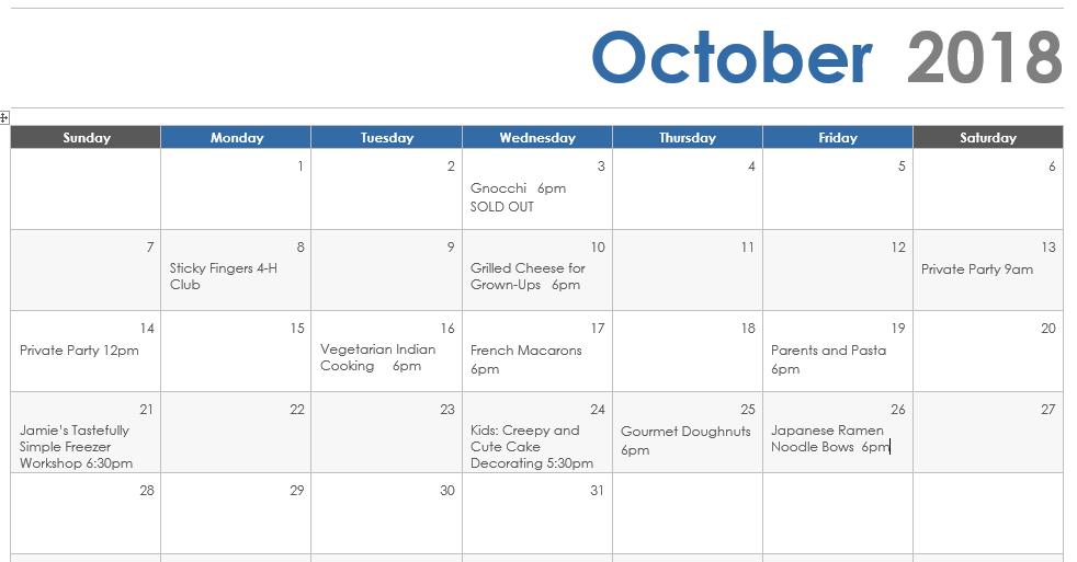 October 18